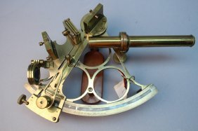 Perry & Co. West Hartlepool Brass Sextant