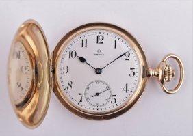 Gold Pocket Omega Watch