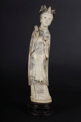 Ivory Sculpture Of Empress