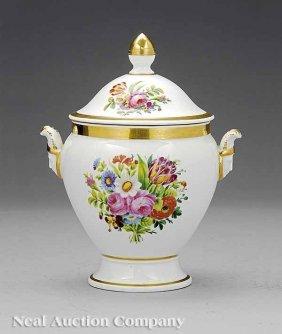 Paris Porcelain Lidded Sucrier