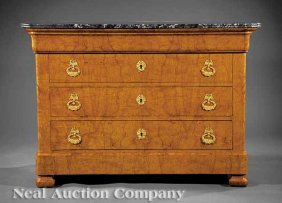 0885 restauration style ash commode lot 885 - Commode style colonial ...