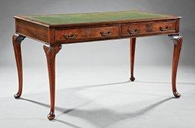 Georgian-style Mahogany Writing Table