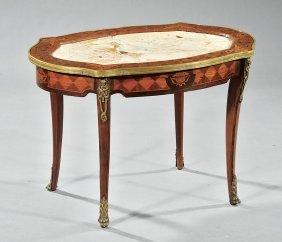 Inlaid Gilt Bronze-mounted Table Ambulante