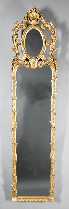 Italian Rococo-style Carved And Gilded Mirrors