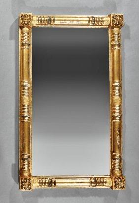 American Classical Giltwood Pier Mirror