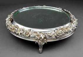 English Silverplate Plateau