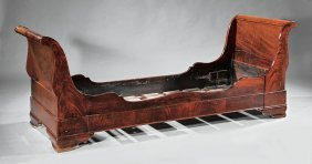 American Late Classical Mahogany Daybed