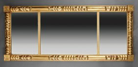 American Late Classical Gilded Mirror