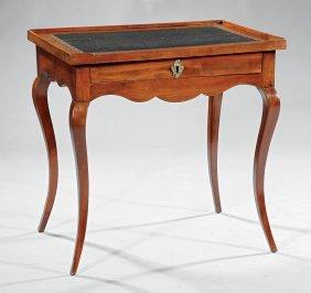 Louis Xv-style Mahogany Table à Ecrire