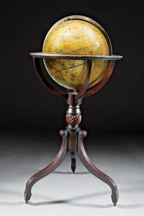 G. & J. Cary Terrestrial Floor Globe