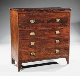 Inlaid Mahogany Butler's Desk, Workshop Allison