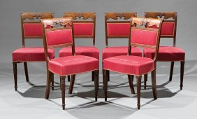 Classical Mahogany Side Chairs, Poss. Barry