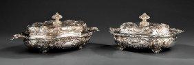 Gorham Sterling Silver Covered Vegetabel Dishes