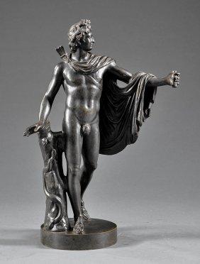 Bronze Statuette Of The Apollo Belvedere