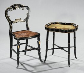 English Child's Chair & Tray Top Table