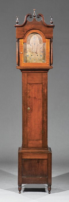 "Tall Case Clock, ""jacob Custer/norristown"""