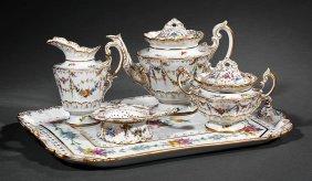 Dresden Porcelain Cabaret Tea Set