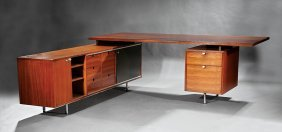 "George Nelson For Herman Miller ""executive Desk"""