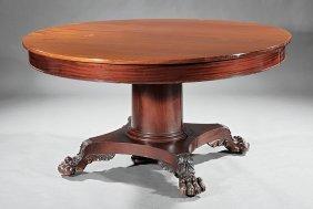 "Mahogany Dining Table, ""potthast Bros."""