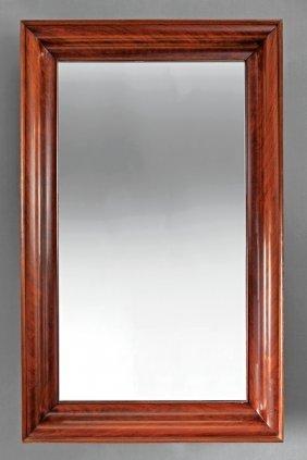American Classical Mahogany Ogee Mirror