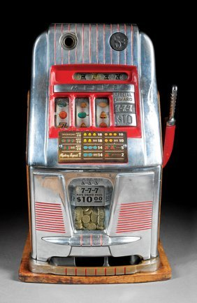Vintage Mills Novelty Co. Nickel Slot Machine
