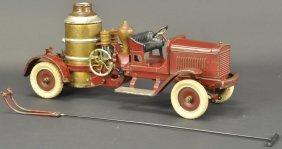 Kingsbury Clockwork Fire Pumper