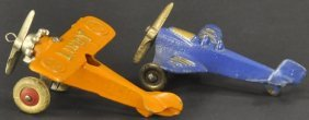Hubley Air Ford And Lindy Airplanes