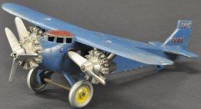 Dent Tri-motor Ford Airplane