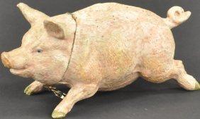 Running Pig Still Bank