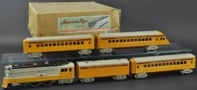 "American Flyer ""hiawatha"" Train Set"