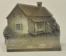 B & H Edgar Allen Poe Cabin Doorstop