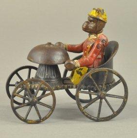 Kyser & Rex Monkey Bell Toy