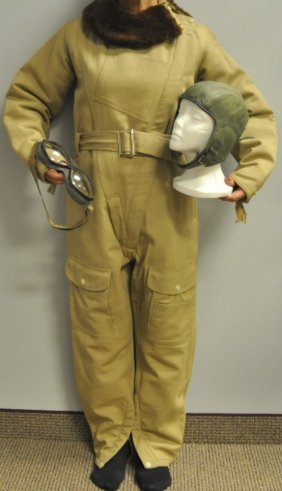 Woman's Aviator Suit With Provenance