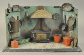 Early Hand Painted Kitchen