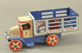 Marx Toyland Dairy Mack Truck