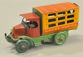 Marx Royal Van Truck