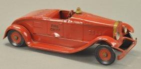 Kingsbury Fire Chief