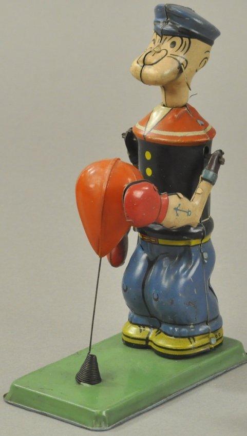 Popeye Punching Bag Lot 741