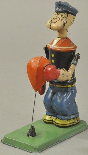 Popeye Punching Bag