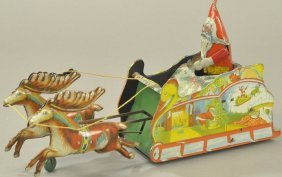Santee Claus Sleigh Toy
