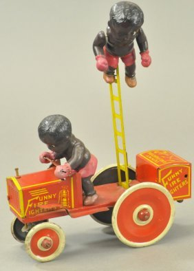 Marx Funny Fire Fighters