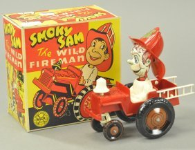 Marx Smoky Sam W/box