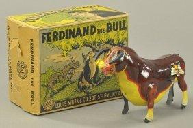 Ferdinand The Bull W/box