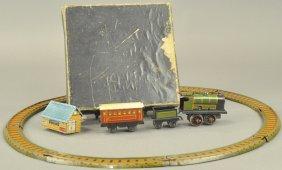 Train Set W/track & Box Penny Toy