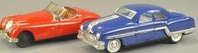 Lot Of Two Tin Autos