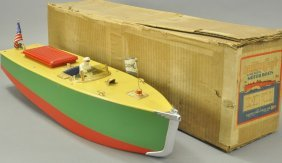Boxed Orkincraft Motorboat