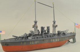 Orkin New Mexico Dreadnought Battleship