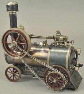 Bing Live Steam Traction Locomobile