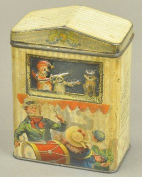 Punch & Judy Biscuit Tin