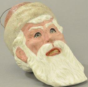 Exceptional Santa Claus Face Lantern